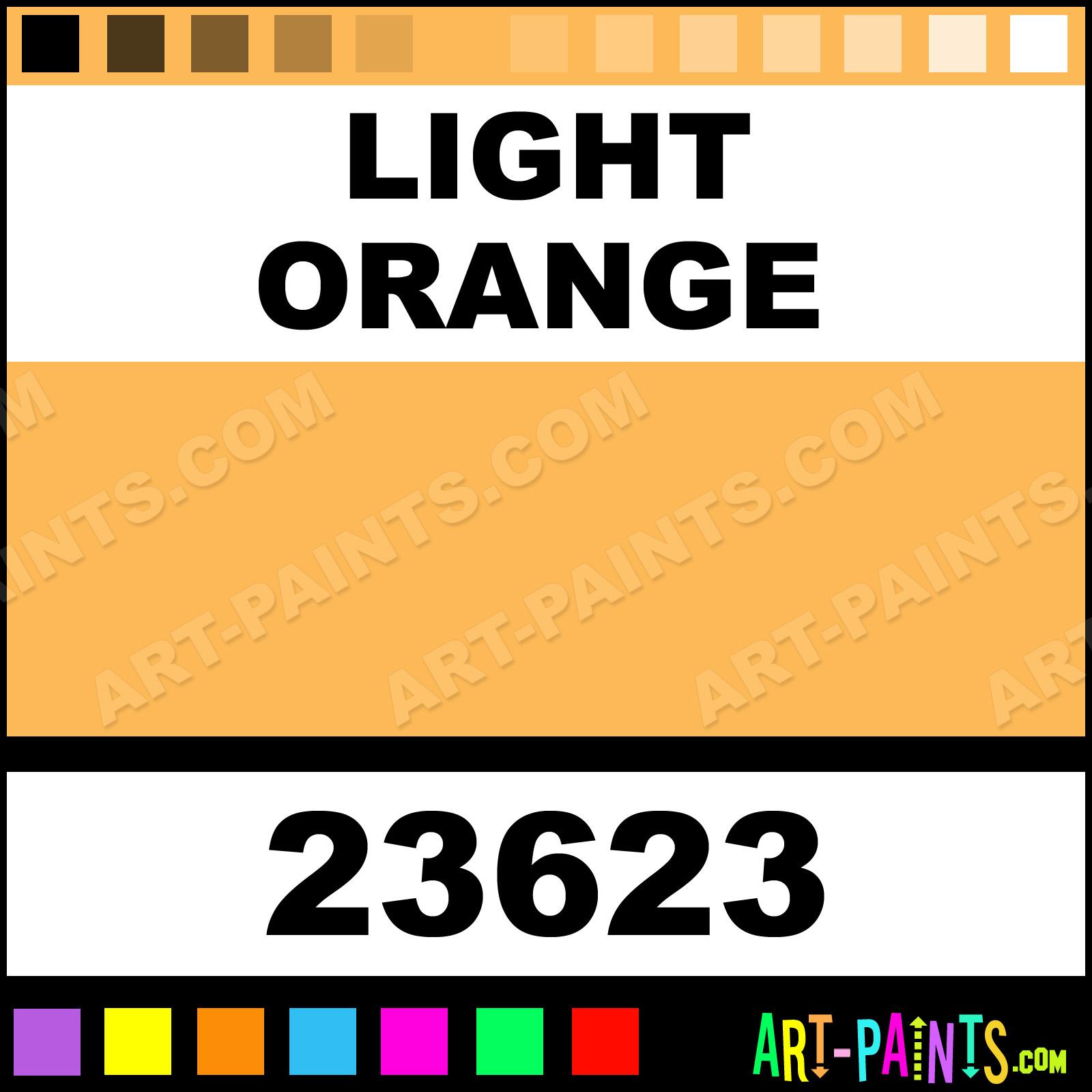 Light Orange Craft Smart Acrylic Paints - 23623 - Light