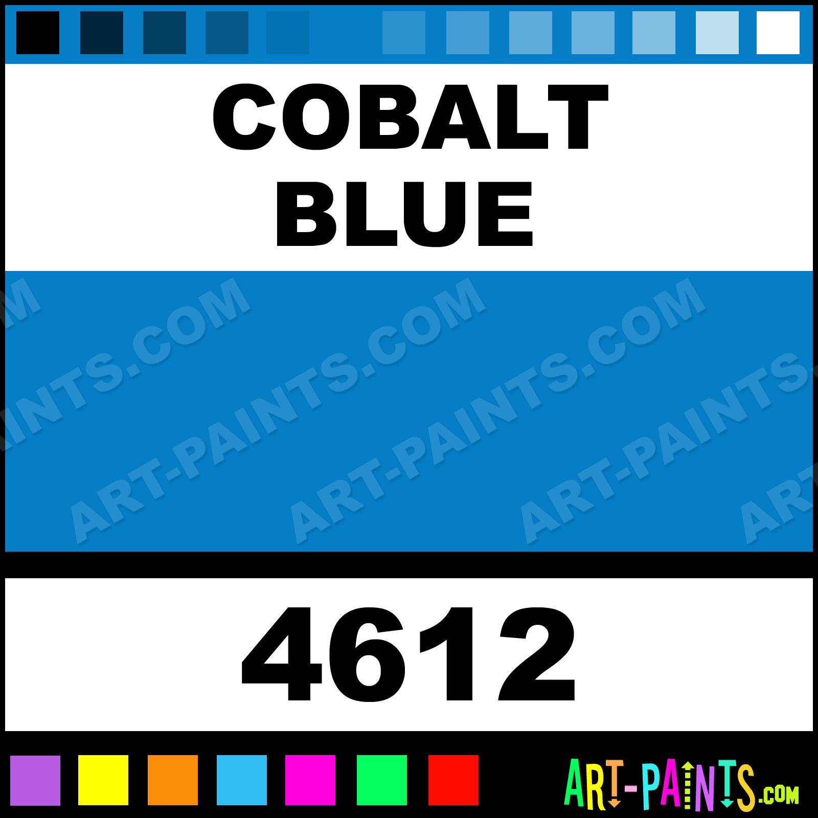 Cobalt Metallic Blue Cobalt Blue Paint