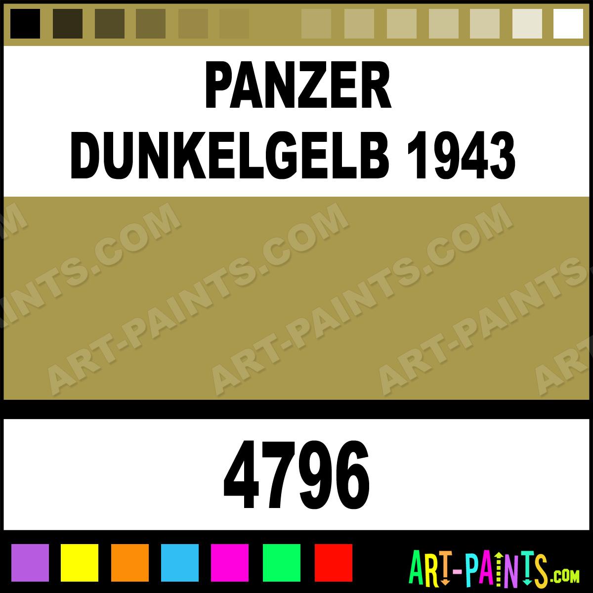 Panzer Dunkelgelb 1943 Paint 4796 ...