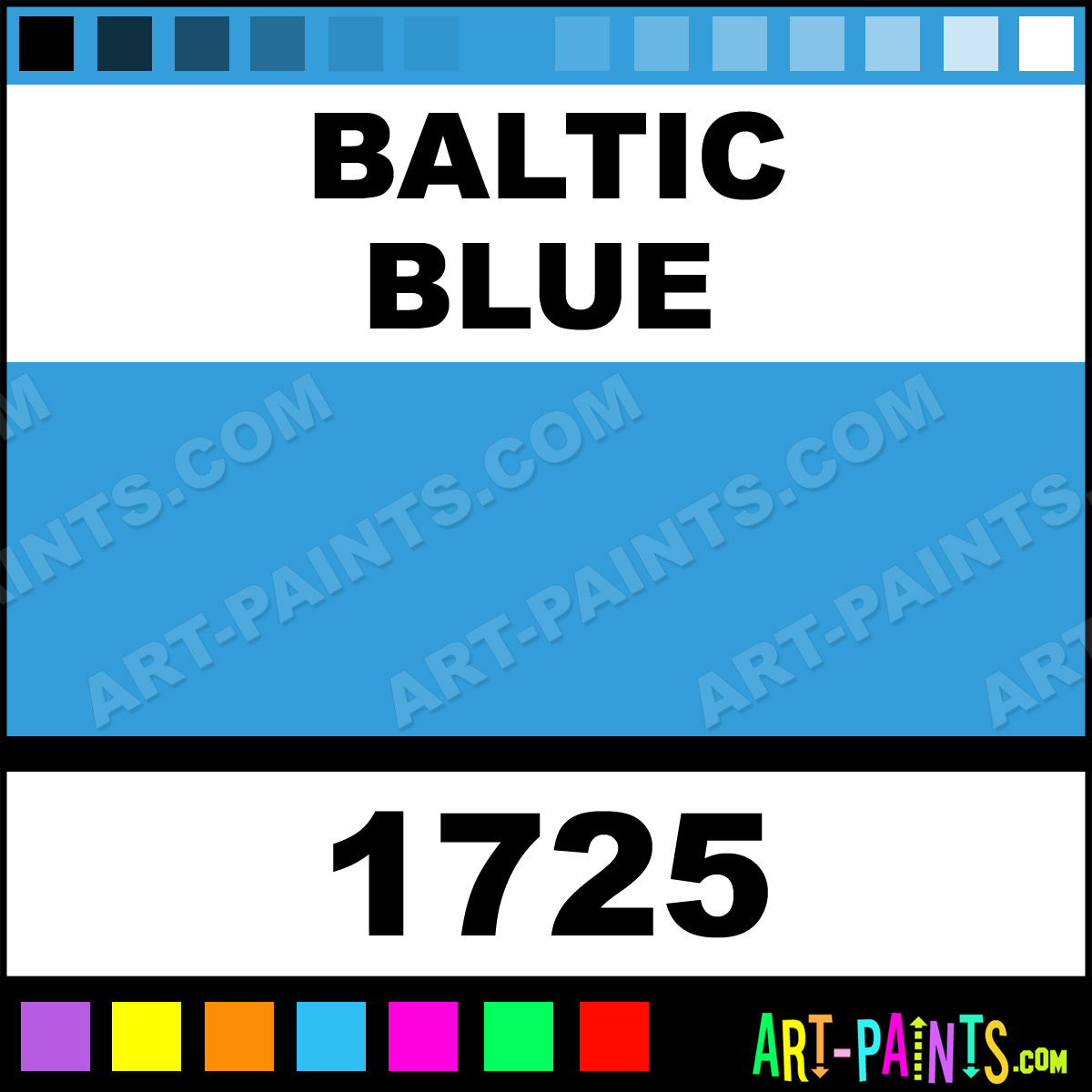 Baltic Blue Prism Acrylic Paints 1725 Baltic Blue