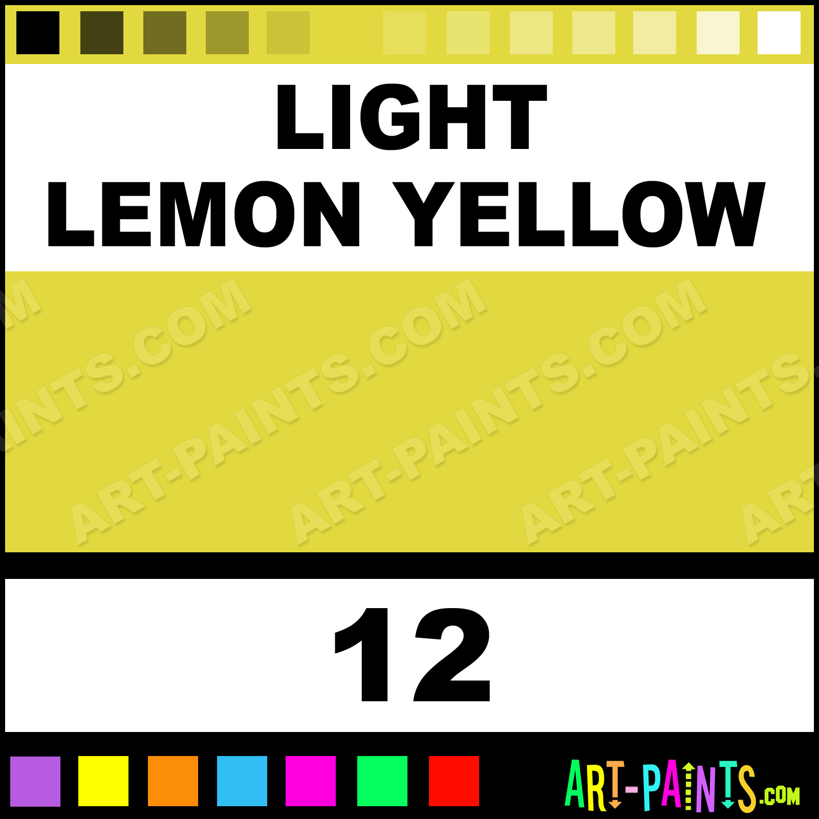 Pebeo Paints Light Lemon Yellow
