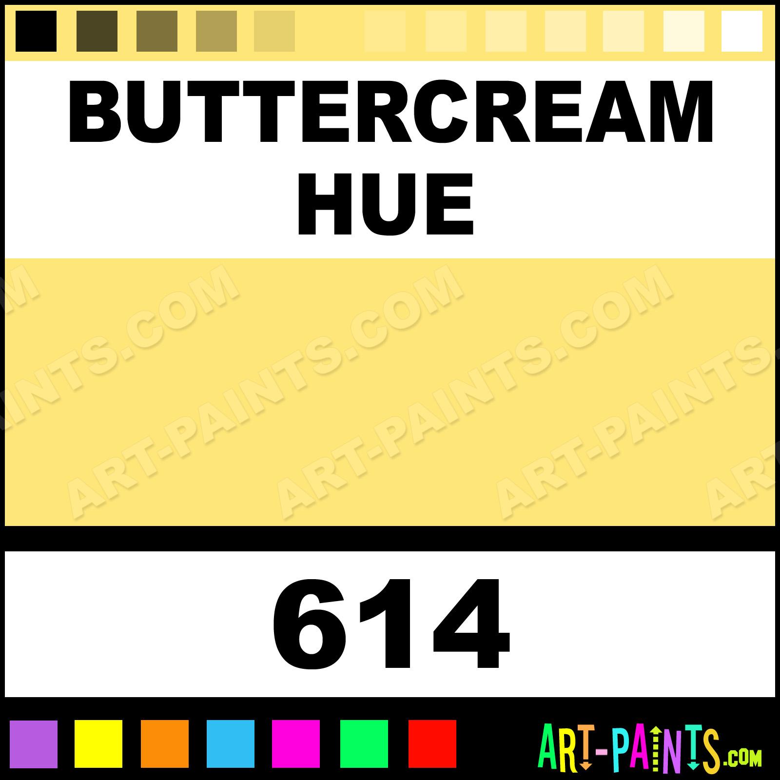 Buttercream Folk Art Acrylic Paints 614 Buttercream