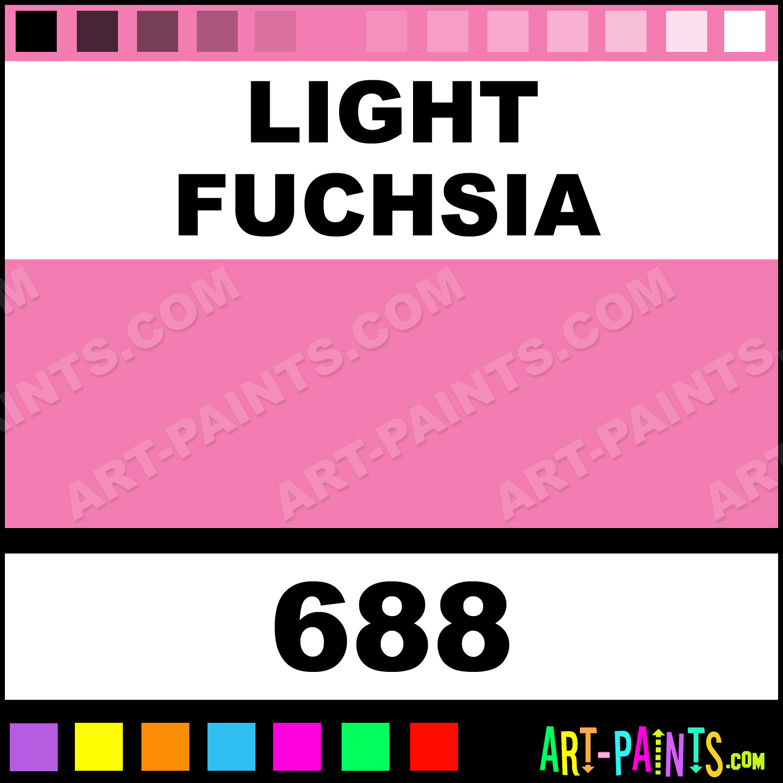 Red color code wolf online - Light Fuchsia