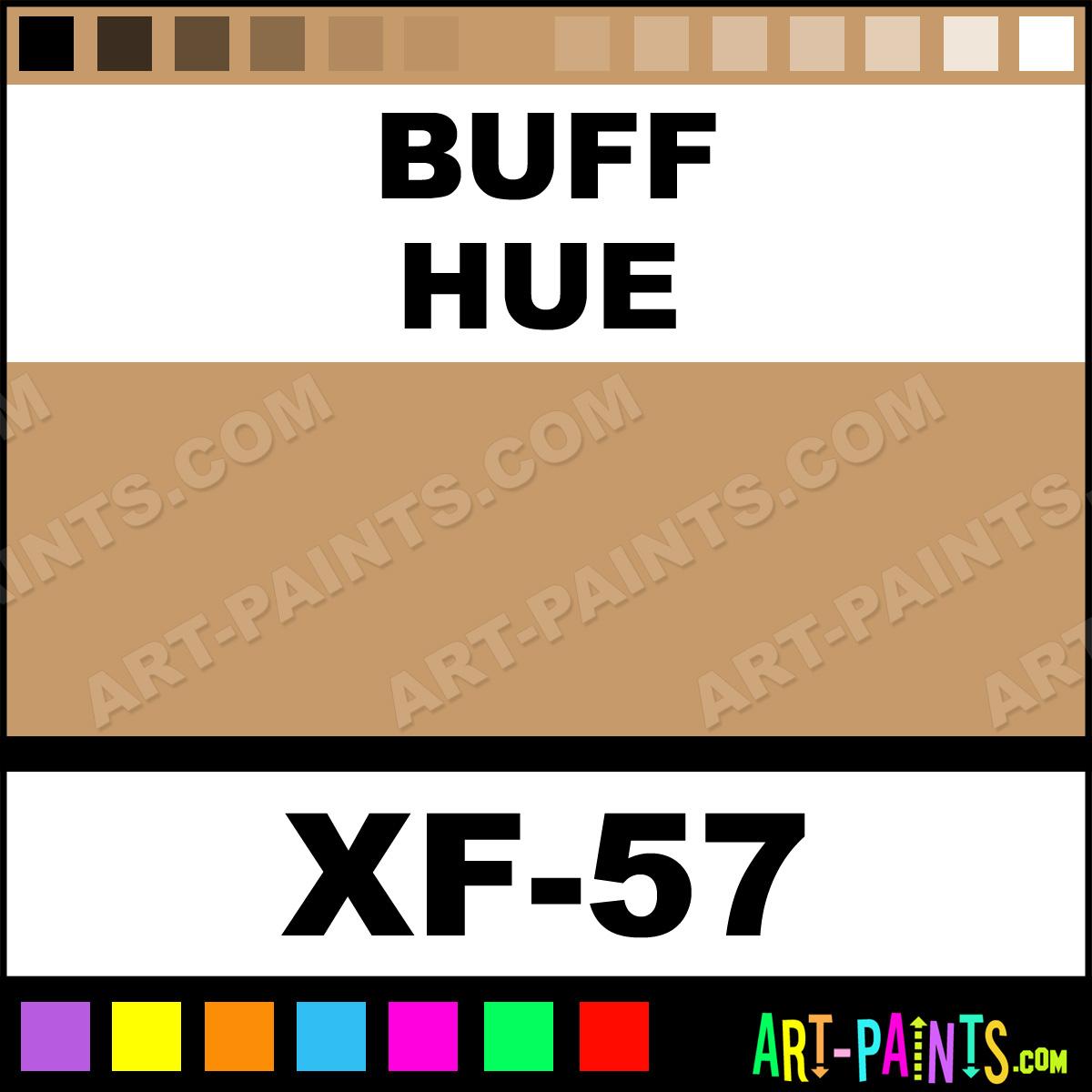 What Color Is Buff >> Buff Color Acrylic Paints - XF-57 - Buff Paint, Buff Color, Tamiya Color Paint, C69A69 - Art ...