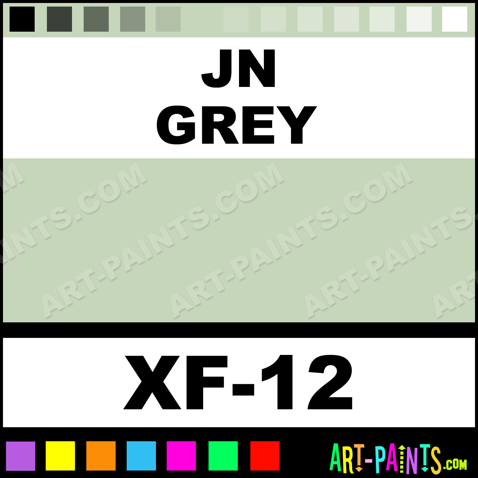 Jn grey color acrylic paints xf 12 jn grey paint jn grey jn grey jn grey paint geenschuldenfo Gallery