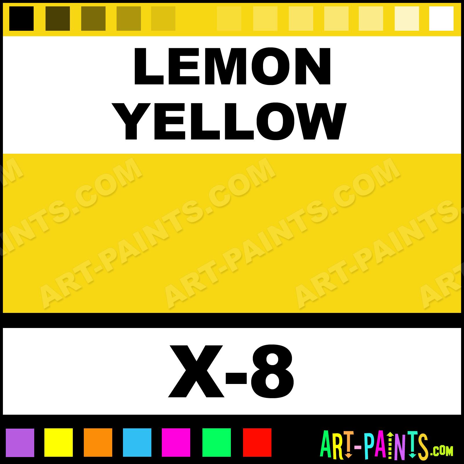 Цвет лимонно-желтый