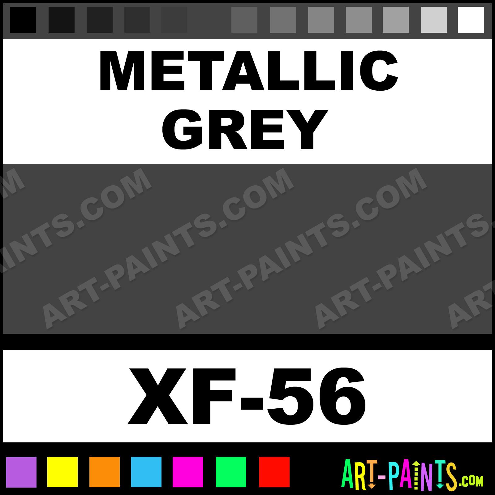 Metallic Grey Paint