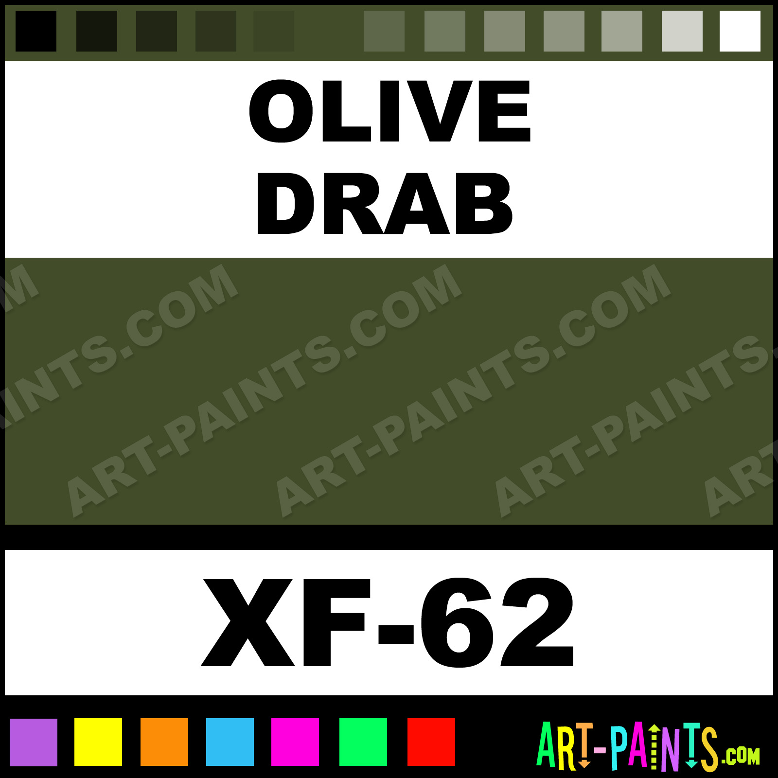 Olive Color Code Olive Drab
