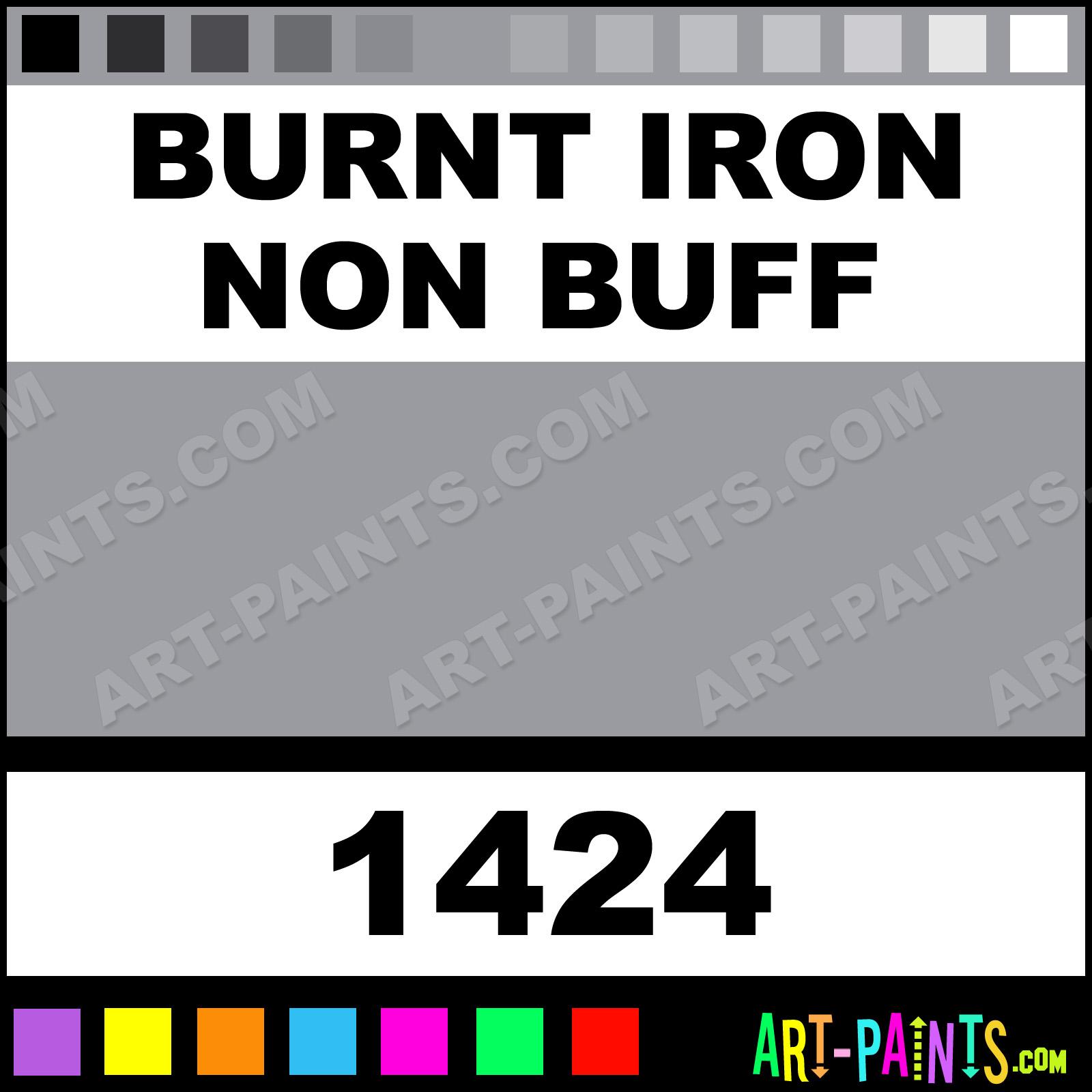 Burnt Iron Non Buff Model Master Acrylic Paints 1424 Burnt Iron