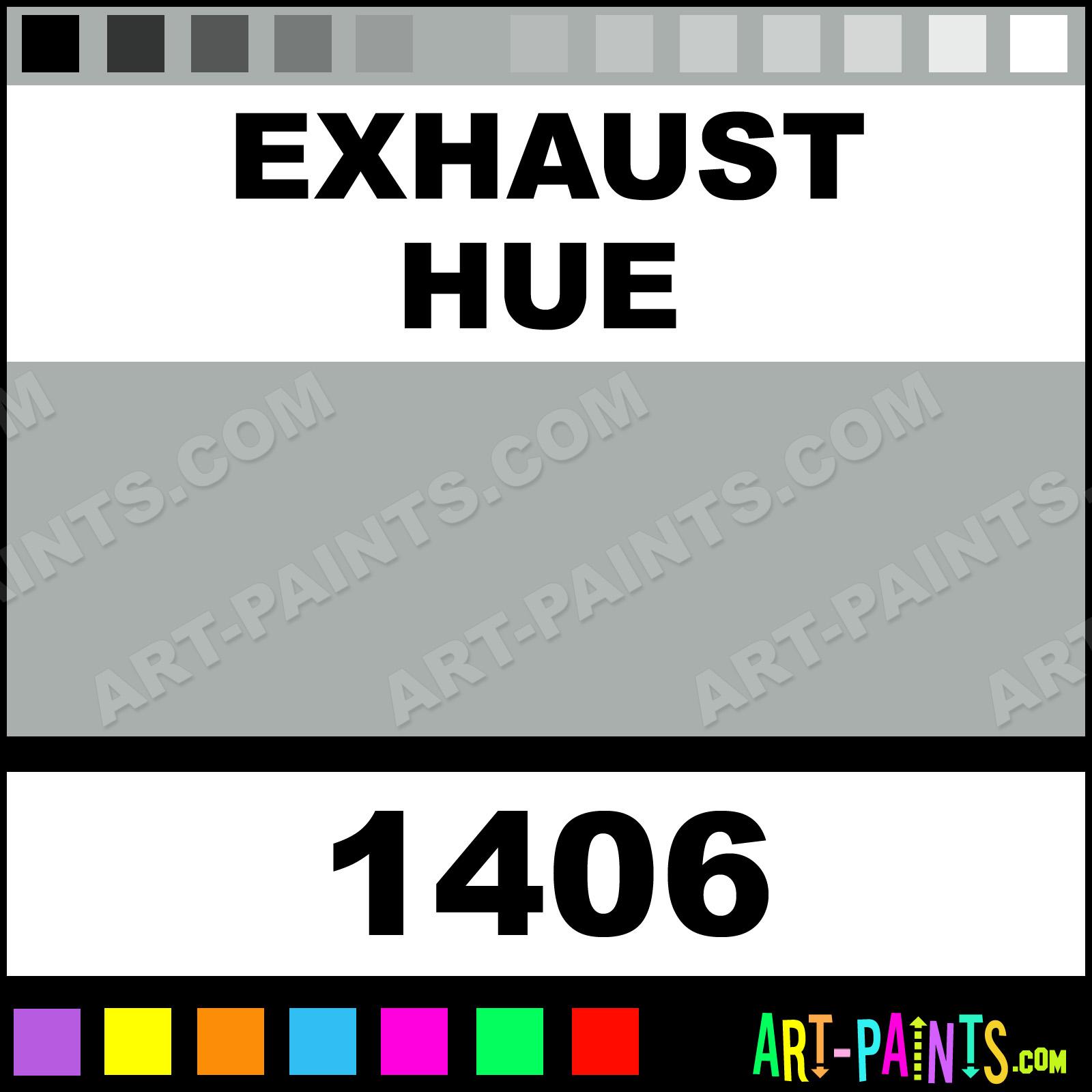 Exhaust Model Master Acrylic Paints 1406 Exhaust Paint Exhaust