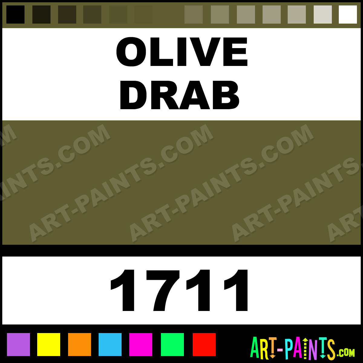 Olive drab model master acrylic paints 1711 olive drab paint olive drab paint 1711 by testors model master paints geenschuldenfo Choice Image