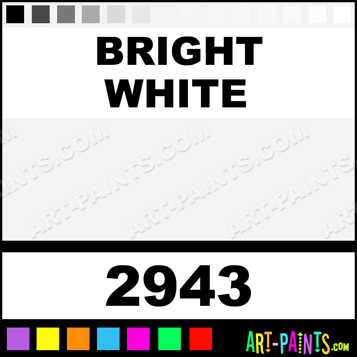 Bright White Model Acrylic Paints