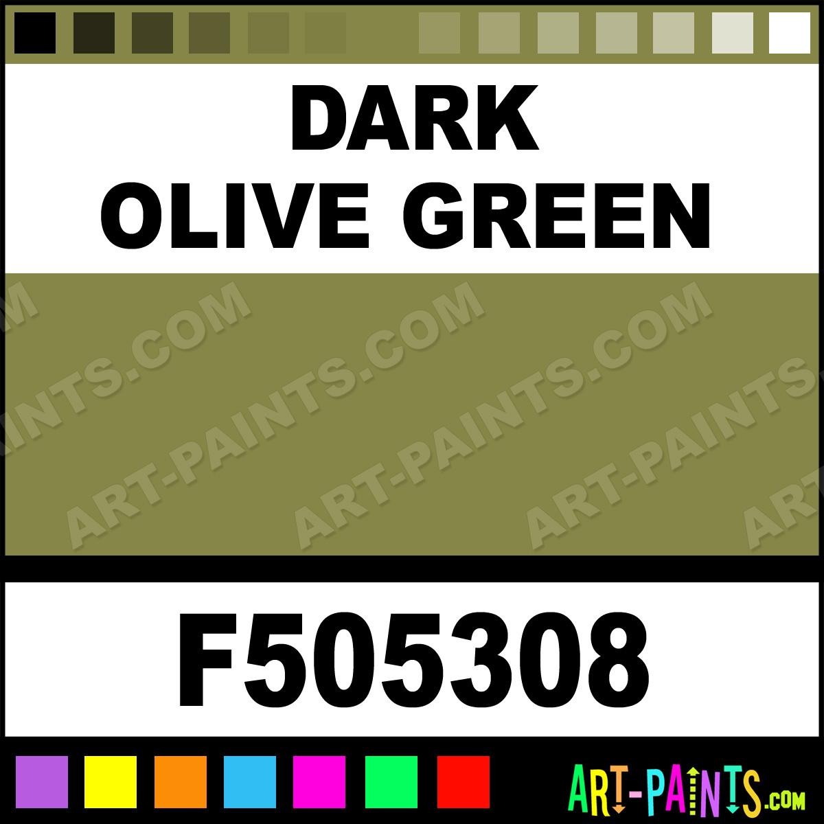 The 25 Best Olive Green Paints Ideas On Pinterest: Dark Olive Green Model Acrylic Paints