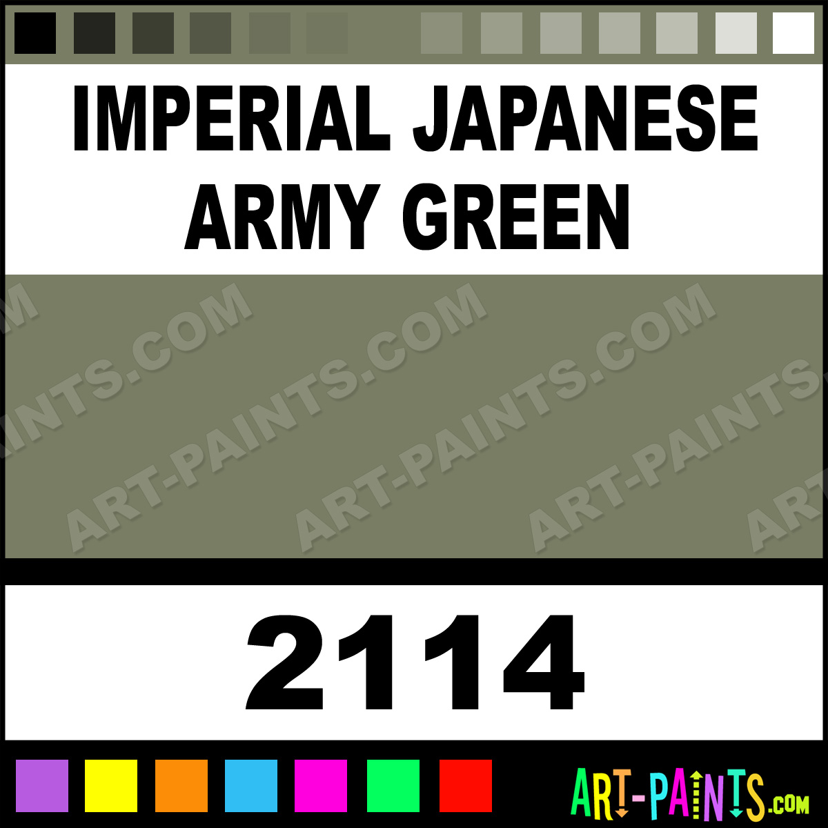 Army Green Fabric Spray Paint
