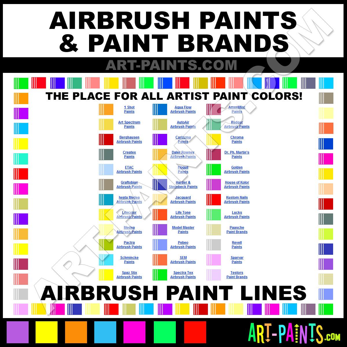 Airbrush Spray Art Paints - Airbrush Spray Paint, Airbrush