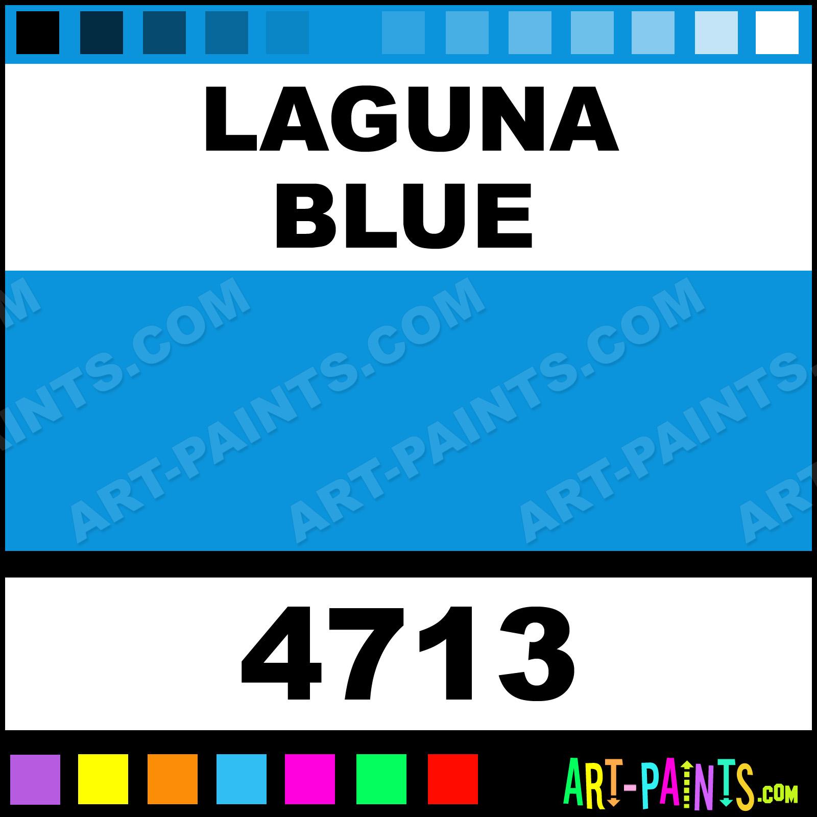 Laguna Blue Paint