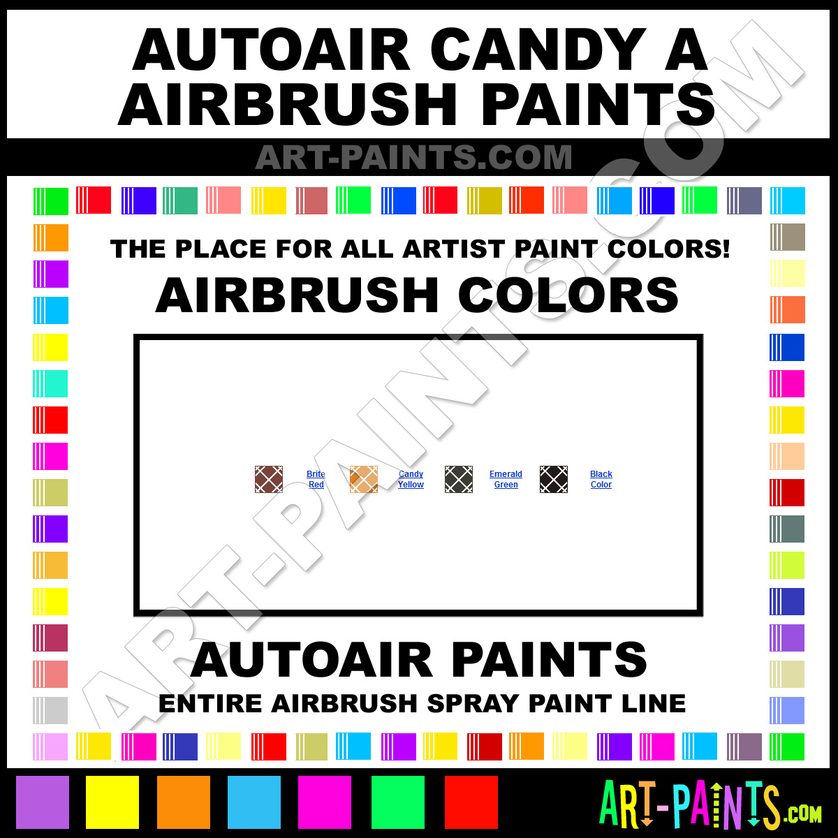 AutoAir Candy A Airbrushs
