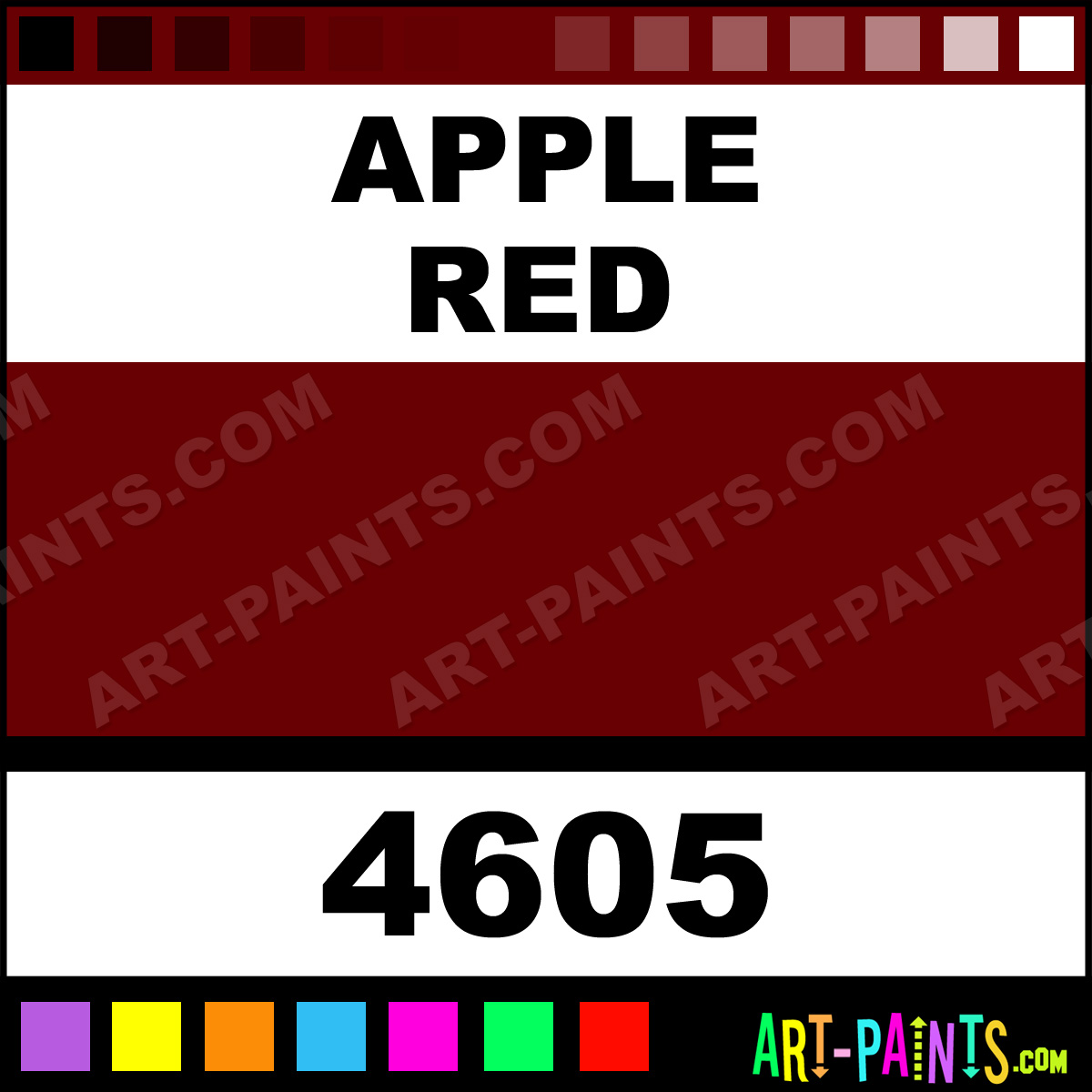 apple red candy pigment airbrush spray paints 4605 apple red paint. Black Bedroom Furniture Sets. Home Design Ideas