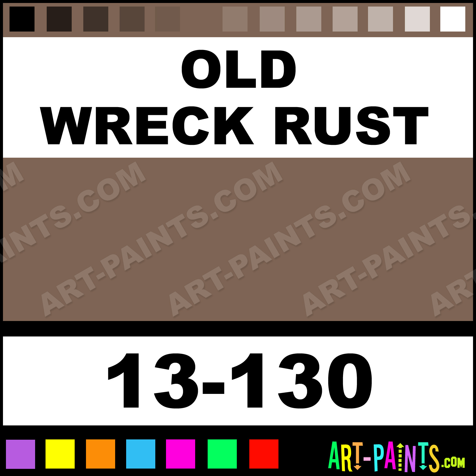 Old Wreck Rust Paint