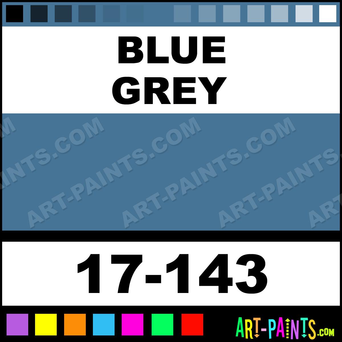 Blue Grey Imagine Air Airbrush Spray Paints 17 143