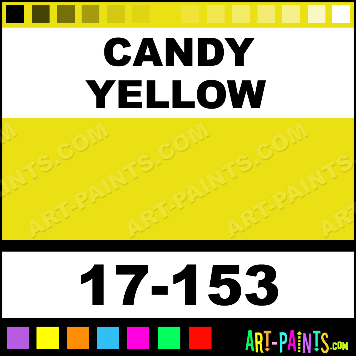 Nice Candy Yellow Spray Paint Part - 3: Candy Yellow Paint 17-153 By Badger Imagine Air Spray Paints