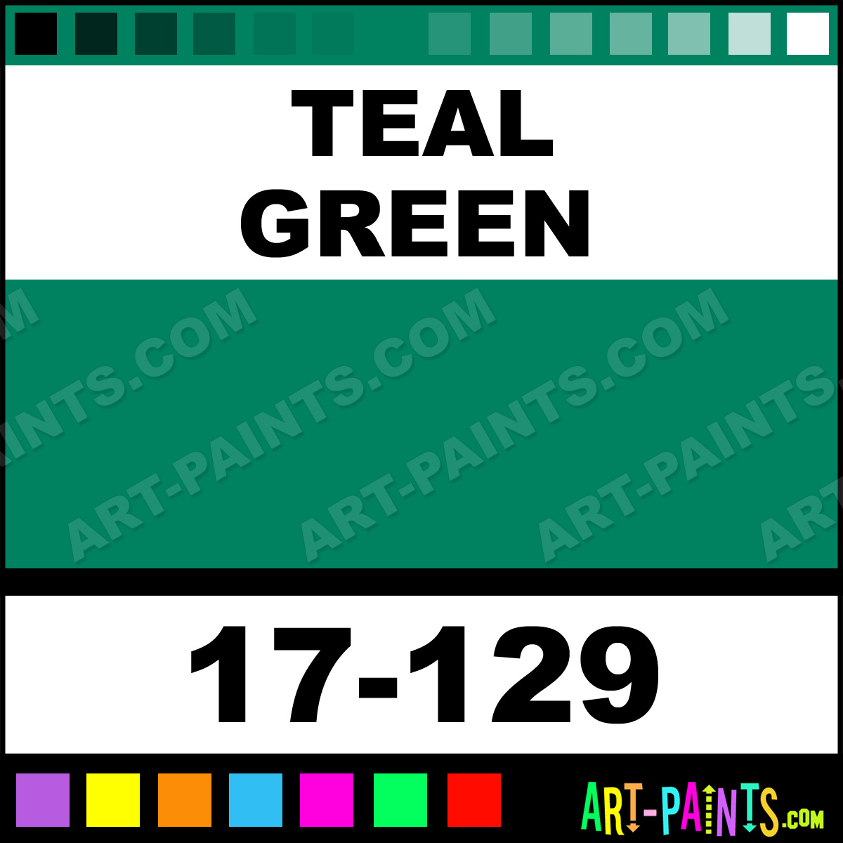 Teal Green Paint
