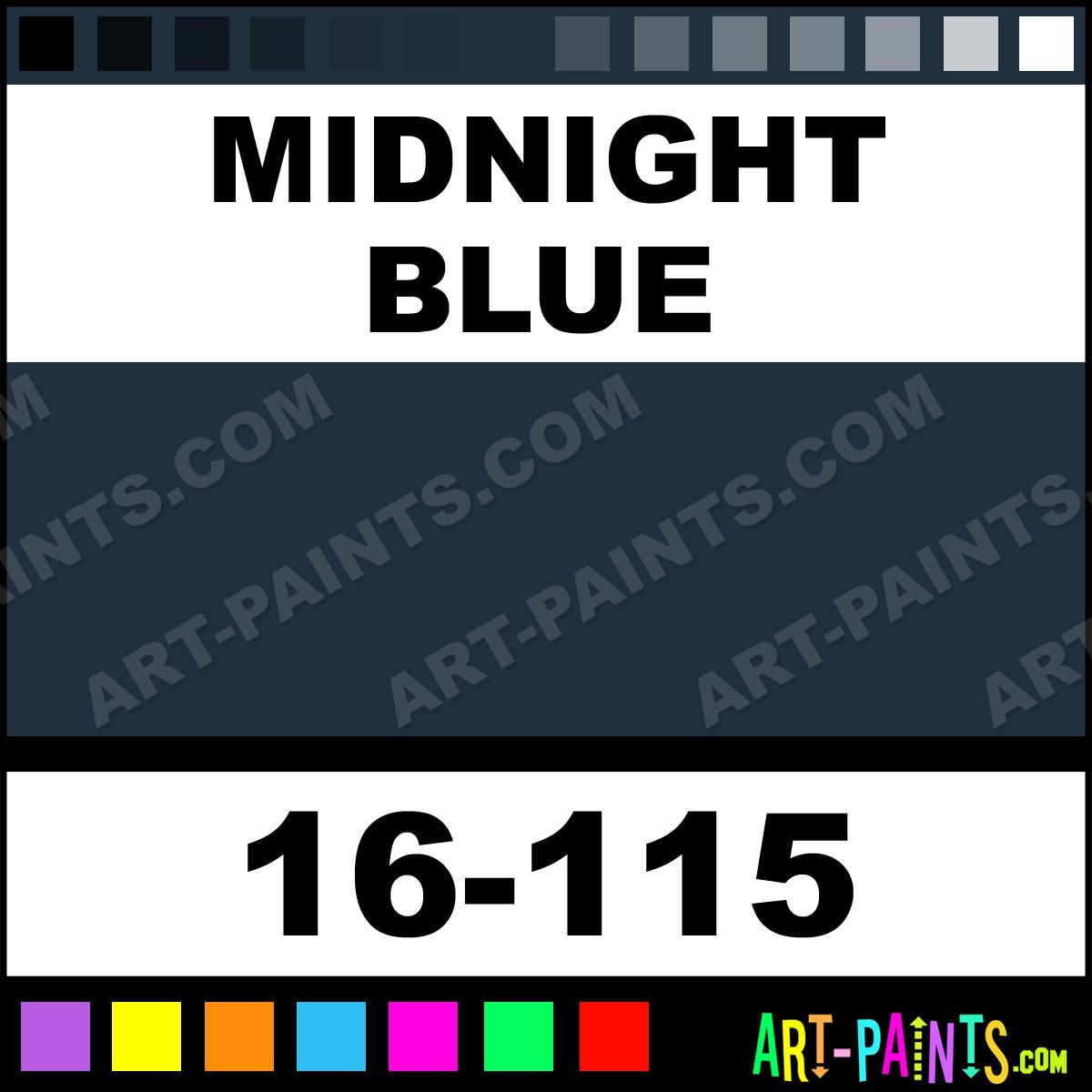Midnight blue acrylic enamel paint kit auto paint car - Midnight Blue Paint 16 115 By Badger Modelflex Automotive Spray Paints