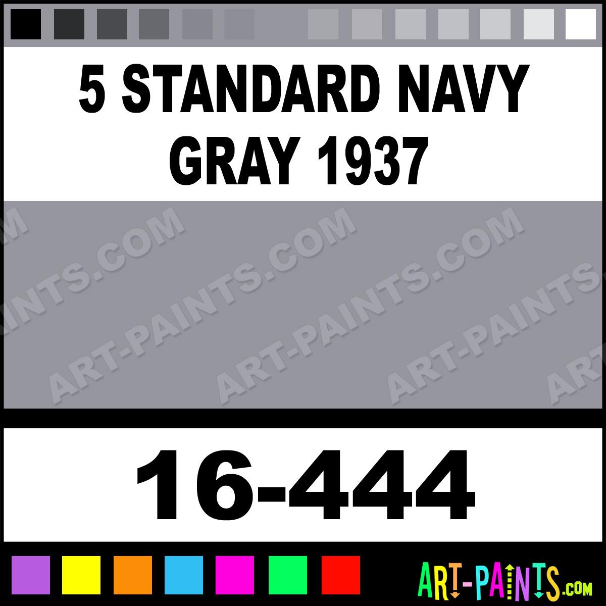 5 Standard Navy Gray 1937 Modelflex Marine Airbrush Spray