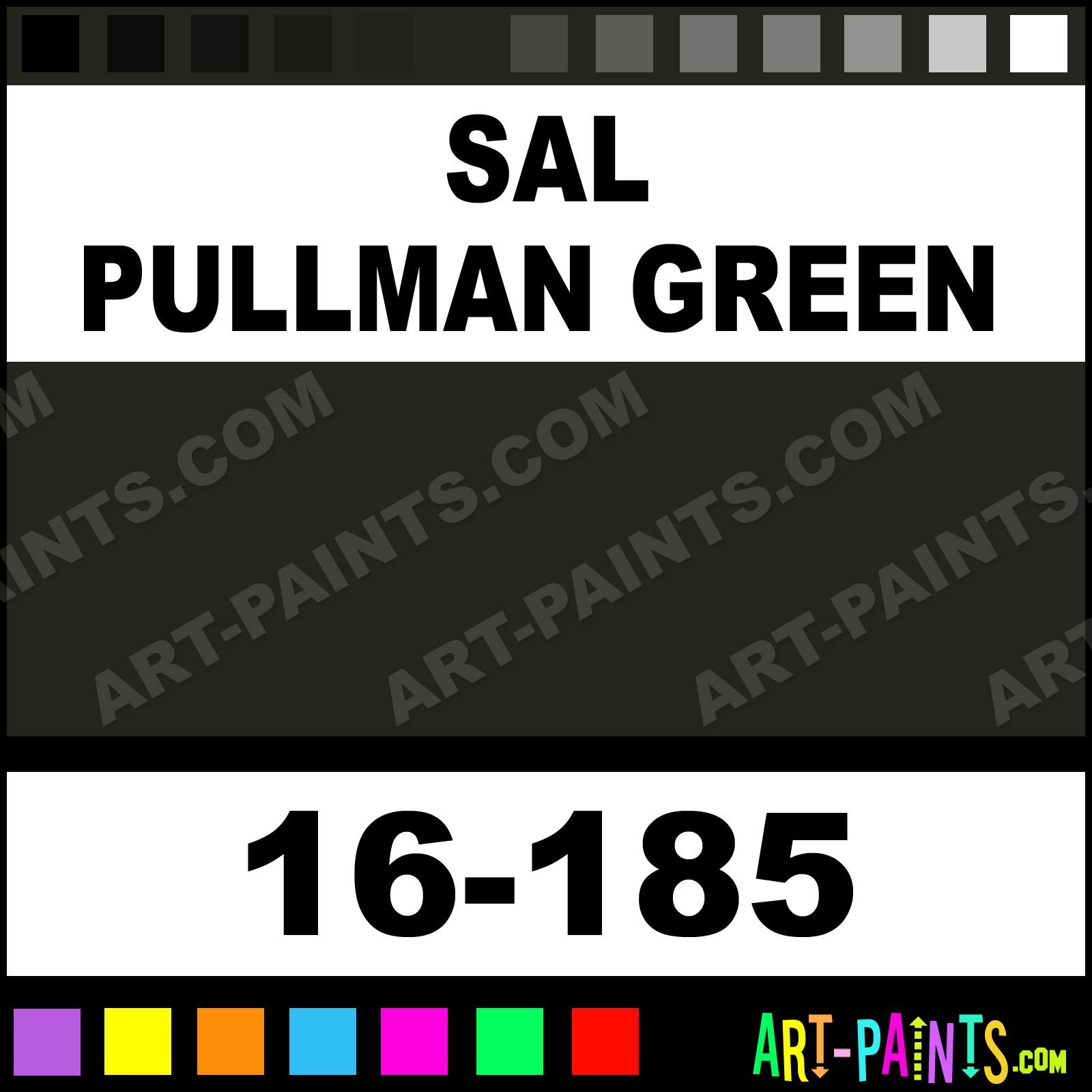 Sal Pullman Green ModelFlex Railroad Airbrush Spray Paints