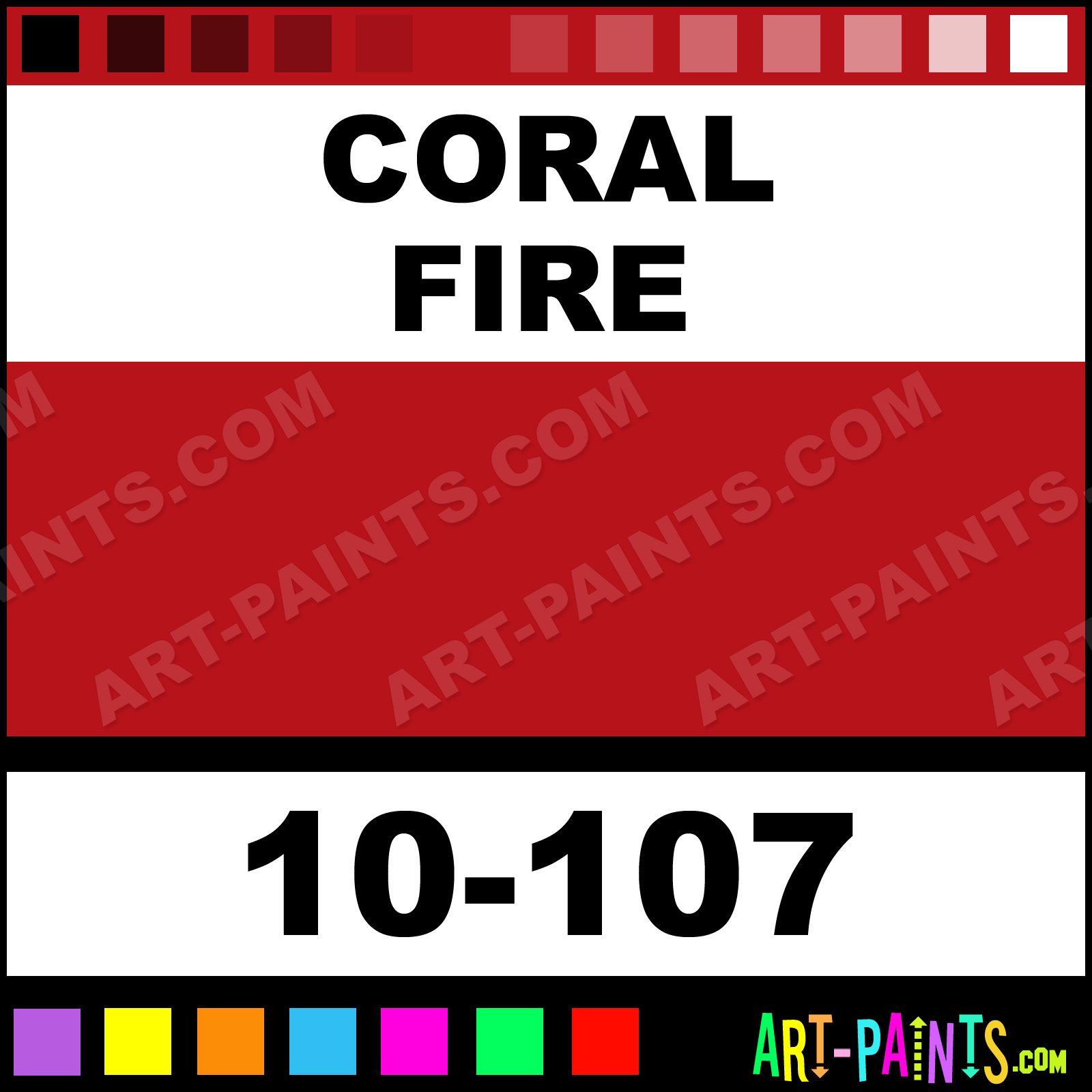 Fire Pink Coral Paint Color,Pink.Printable Coloring Pages Free ...