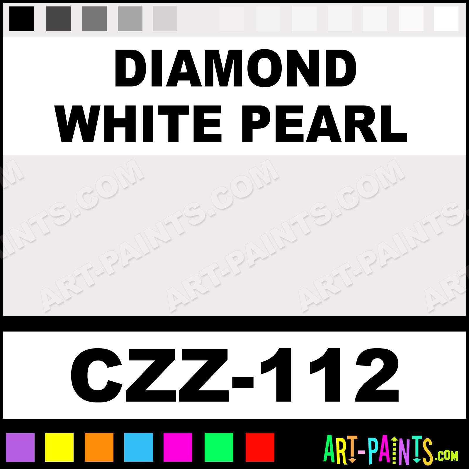 White Diamond Truck Color Code: Diamond White Pearl Carizzmatics Airbrush Spray Paints