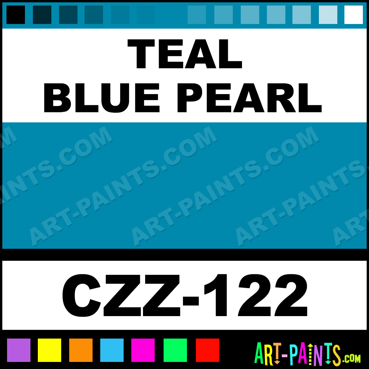 Teal blue pearl carizzmatics airbrush spray paints czz 122 teal blue pearl paint geenschuldenfo Choice Image