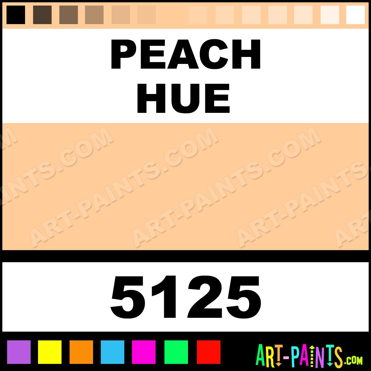 Peach Professional Airbrush Spray Paints 5125 Peach Paint Peach Color Createx Professional