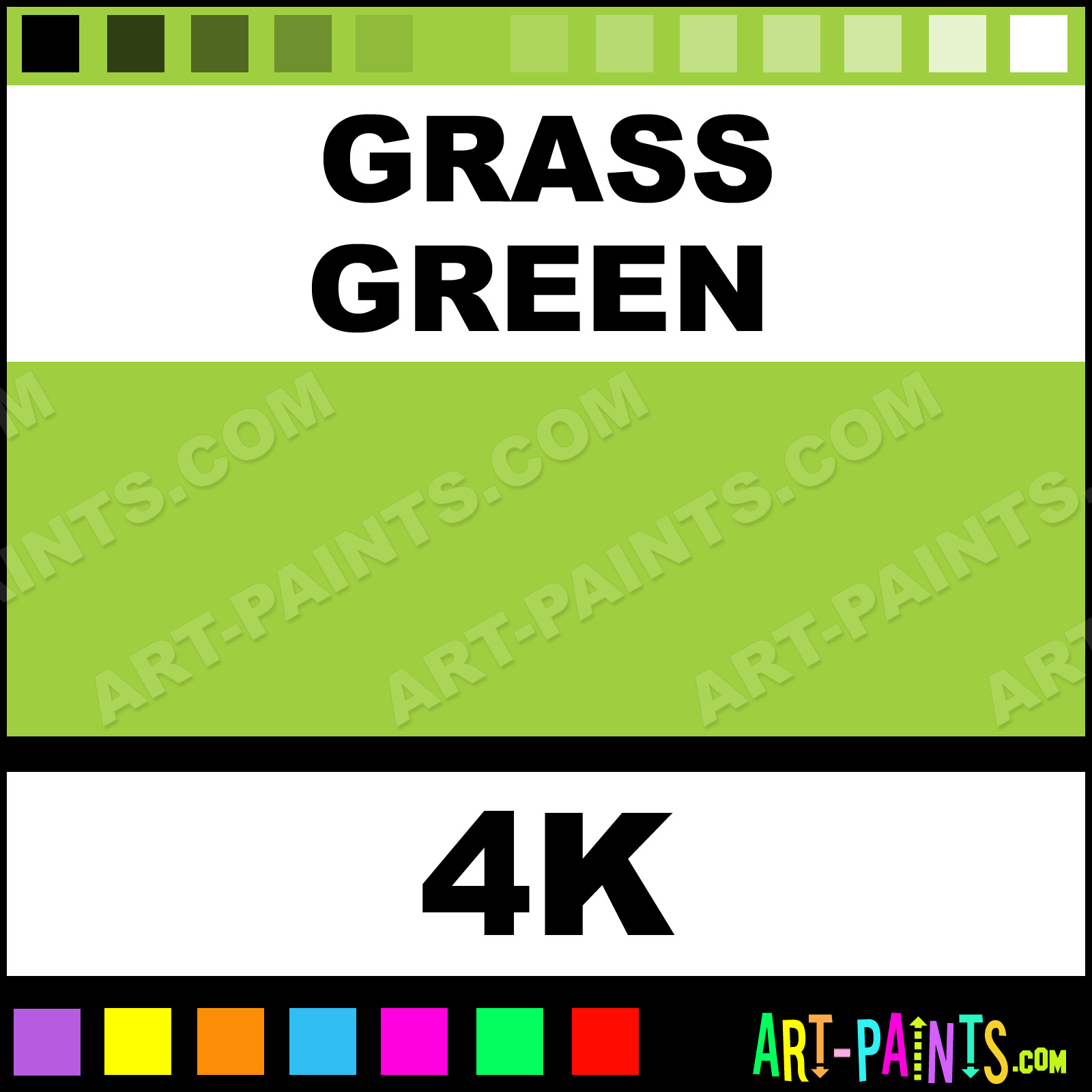 Grass Green Spectralite Airbrush Spray Paints - 4K - Grass Green Paint ...