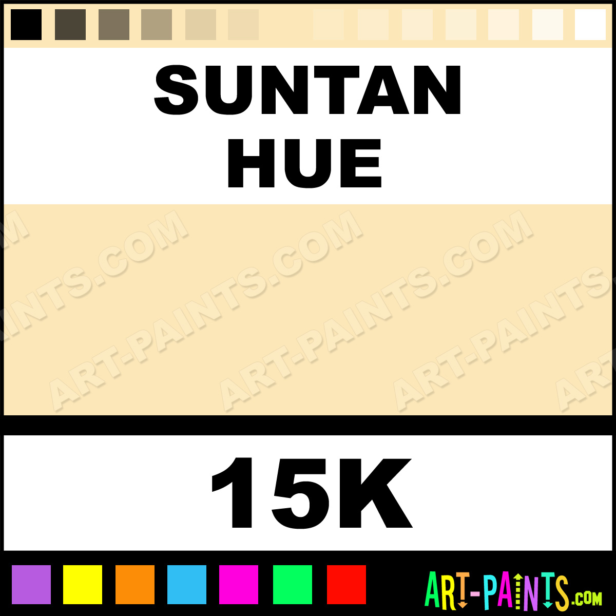 Suntan Spectralite Airbrush Spray Paints - 15K - Suntan ...