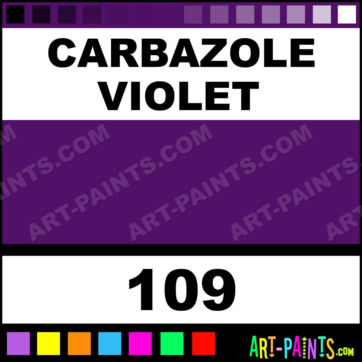 Carbazole Violet Oil Paint