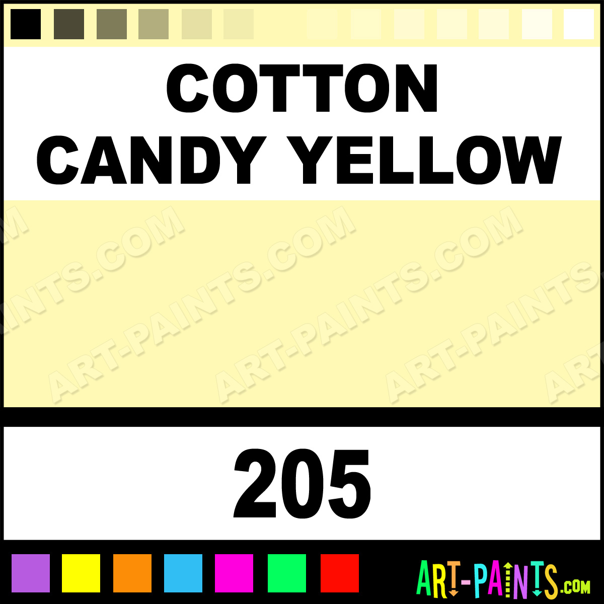 Candy Yellow Spray Paint Part - 40: Cotton Candy Yellow Paint ...