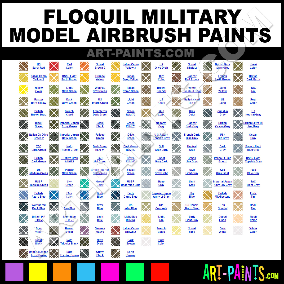 Foliage Green Military Model Airbrush Spray Paints - F505246