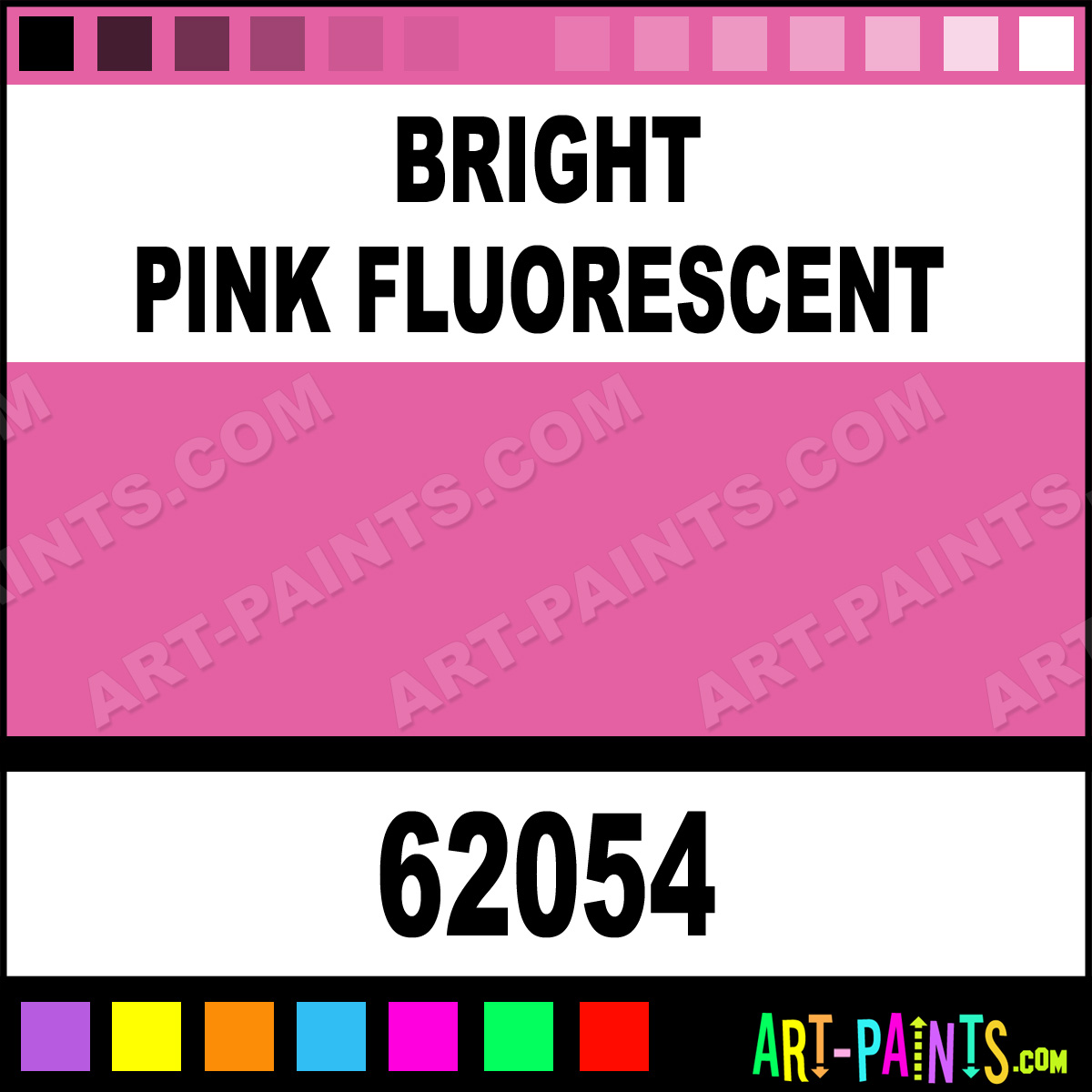 Bright Pink Paint Samples Kitchen Towels: Bright Pink Fluorescent Pro-Color Airbrush Spray Paints