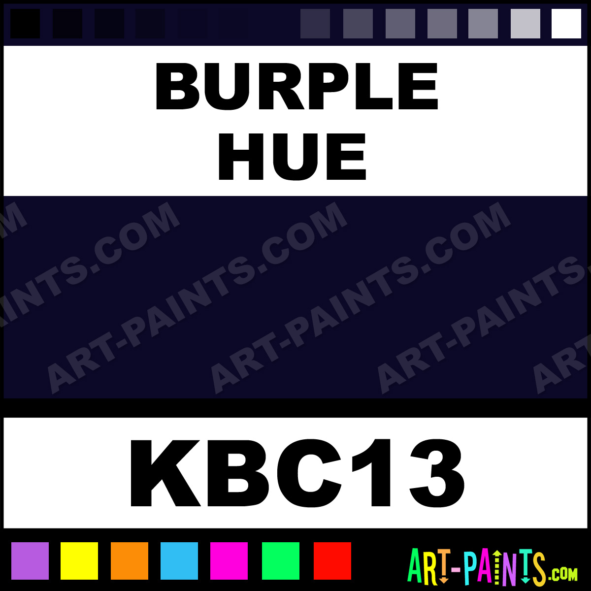 Burple Paint KBC13 by