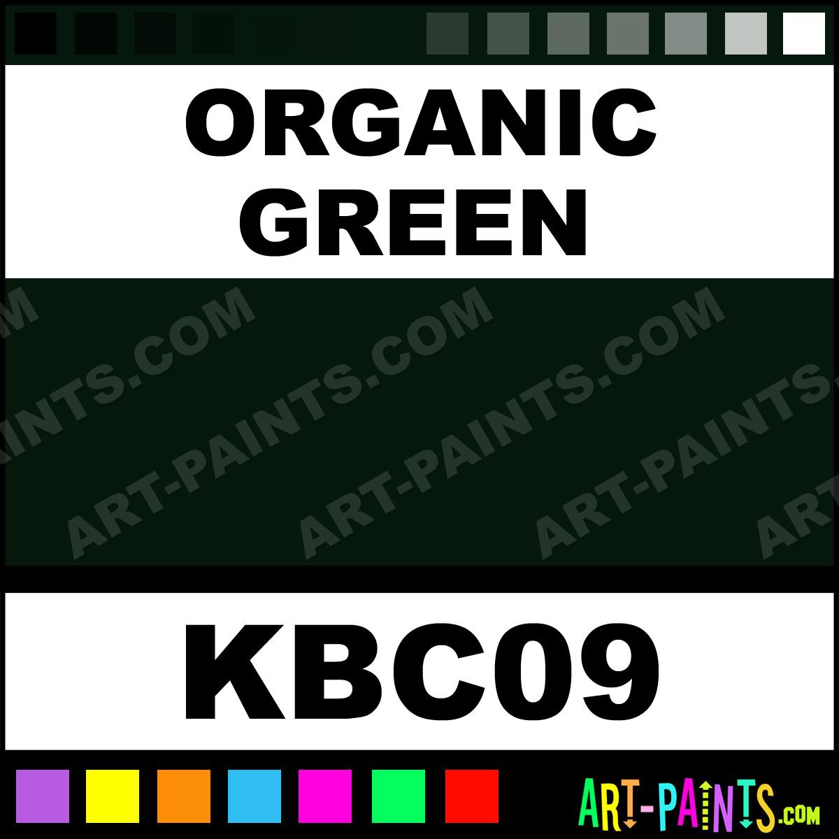 Organic Green Kandy Paint
