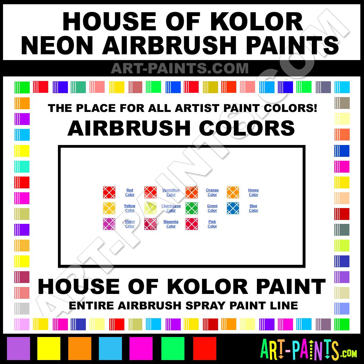 Chartreuse Neons Airbrush Spray Paints Ne508 Chartreuse Paint