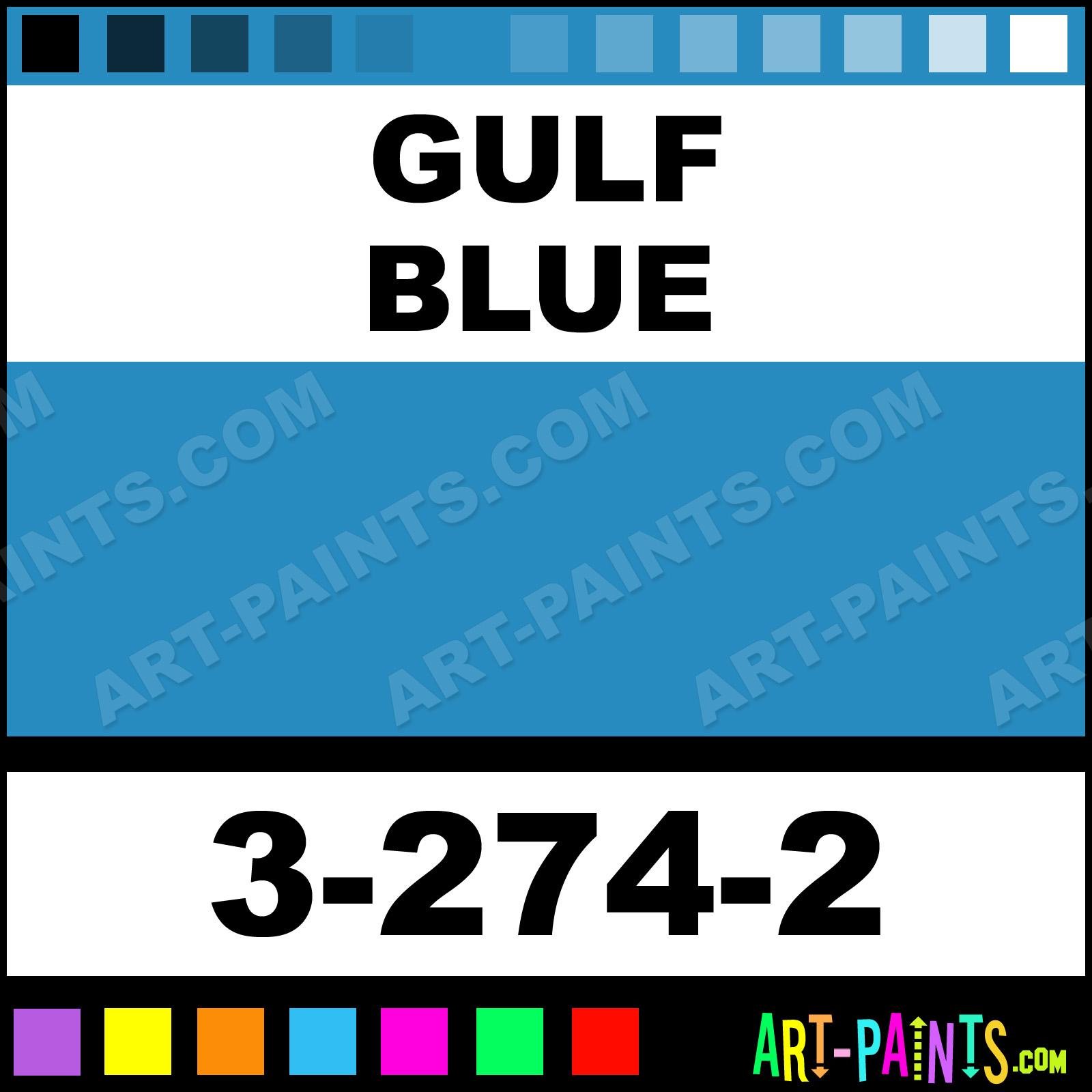 Gulf Blue Paint