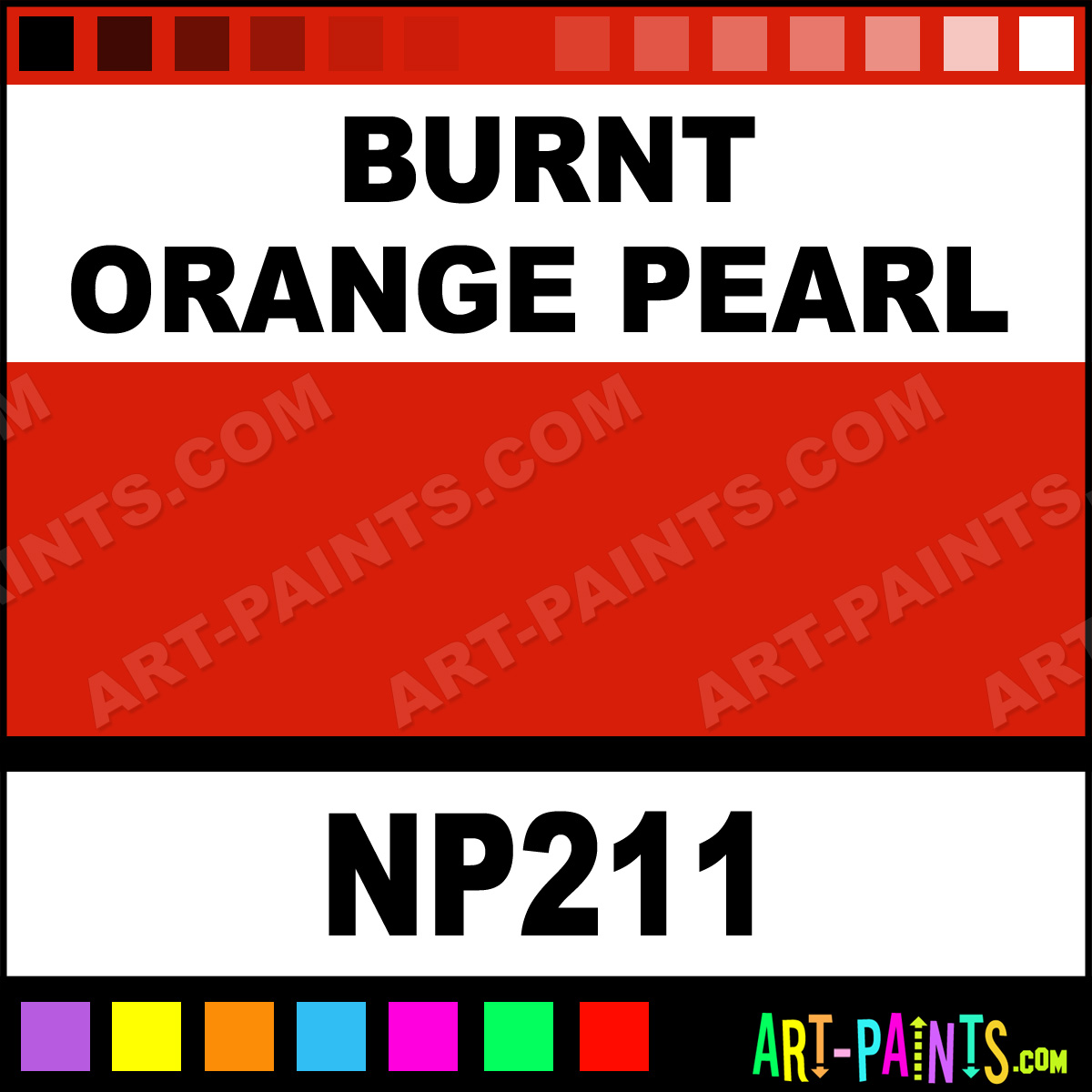 Burnt orange pearl pearlescent airbrush spray paints - Burnt orange paint colors ...