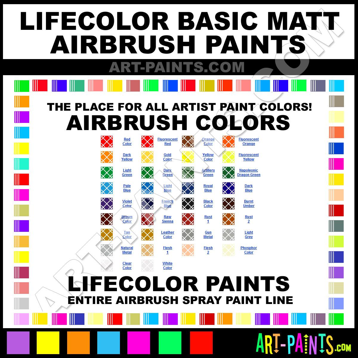 paint phosphor color lifecolor basic matt spray paint f8f6d0 art. Black Bedroom Furniture Sets. Home Design Ideas