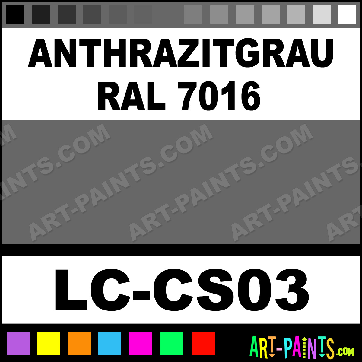 anthrazitgrau ral 7016 german tanks wwii 6 airbrush spray paints lc cs03 anthrazitgrau ral. Black Bedroom Furniture Sets. Home Design Ideas