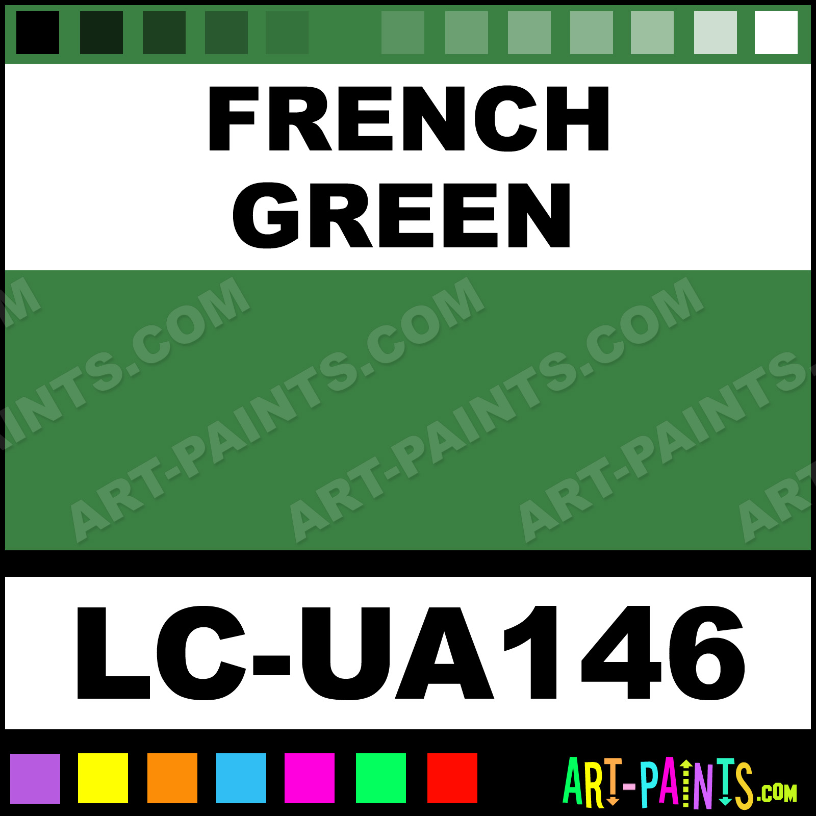 French Green Paint