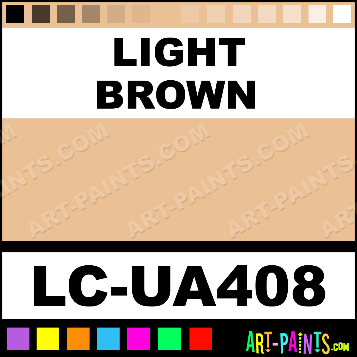 Light brown ua mimetic airbrush spray paints lc ua408 for Neutral light brown paint colors