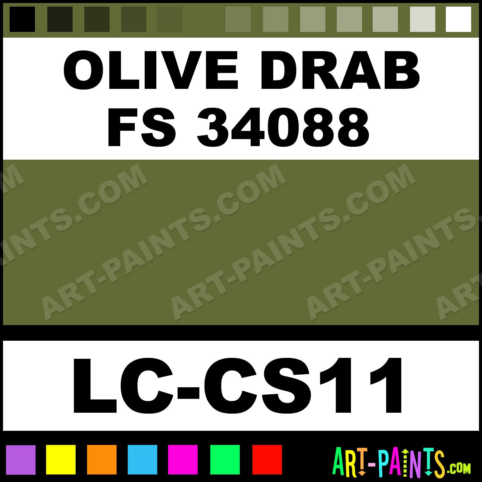 Olive-Drab-FS-34088-xlg Olive Drab Color