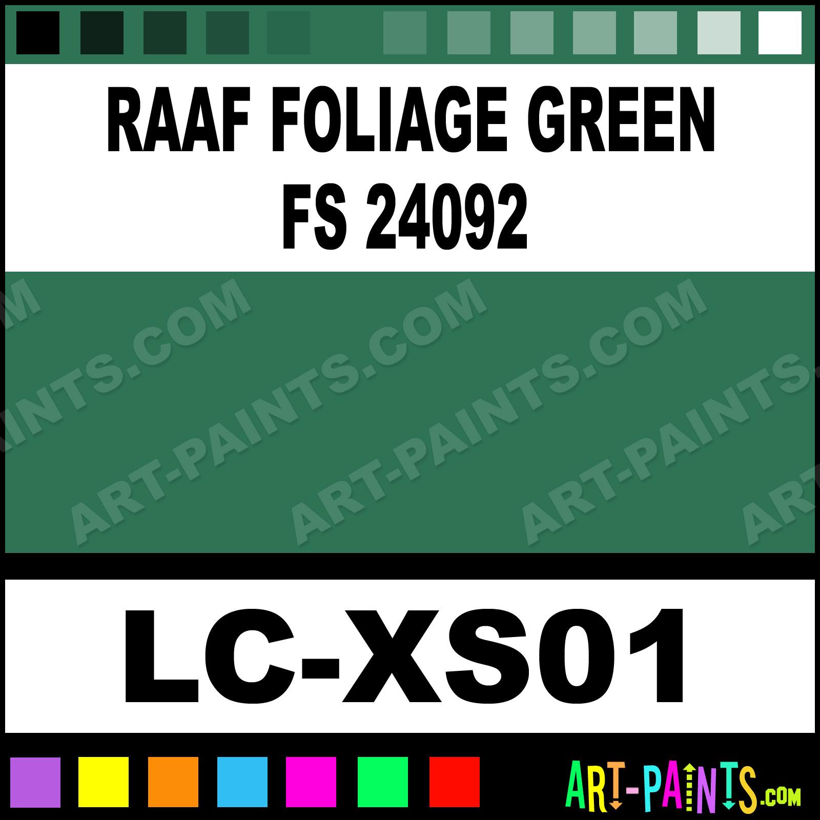 Wwii Royal Australian Aircraft 1 Paints Foliage Green